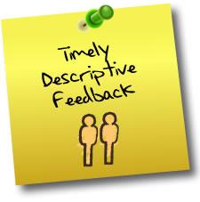how to give descriptive feedback